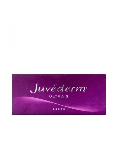 Juvederm Ultra 2 2x0,55ml, Wypełniacze, Allergan, fillers