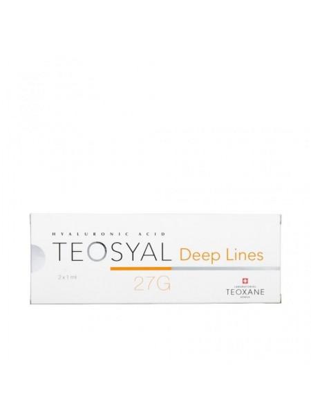 Teosyal  27G Deep Lines 2x1 ml, Wypełniacze, Teoxane, fillers