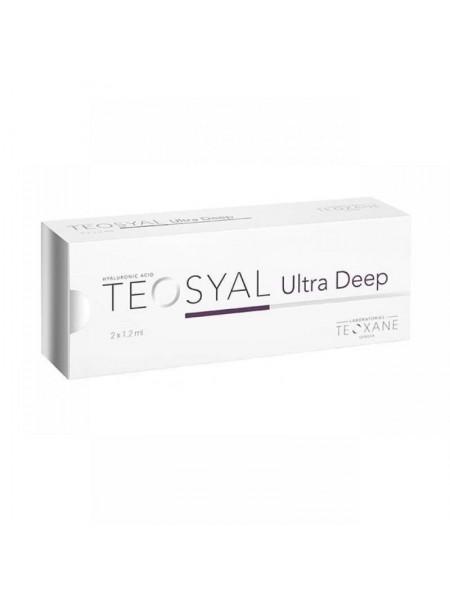 Teosyal Ultra Deep 2x1,2 ml, Wypełniacze, Teoxane, fillers