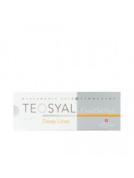 Teosyal Puresense 27G Deep Lines 2x1 ml, Wypełniacze, Teoxane, fillers